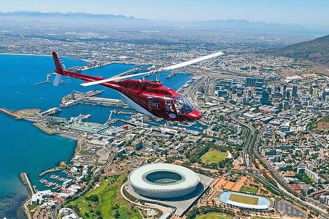 Cape Town Private 3-Day Tour with Helicopter and Wine Tasting