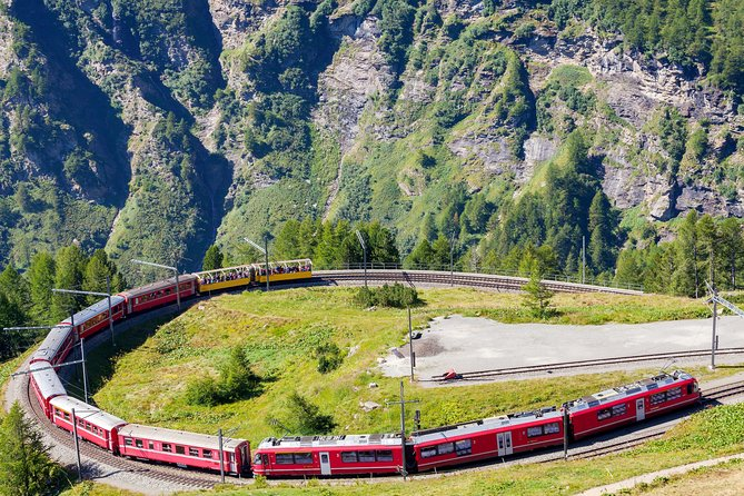 Bernina Scenic Train & Lake Como