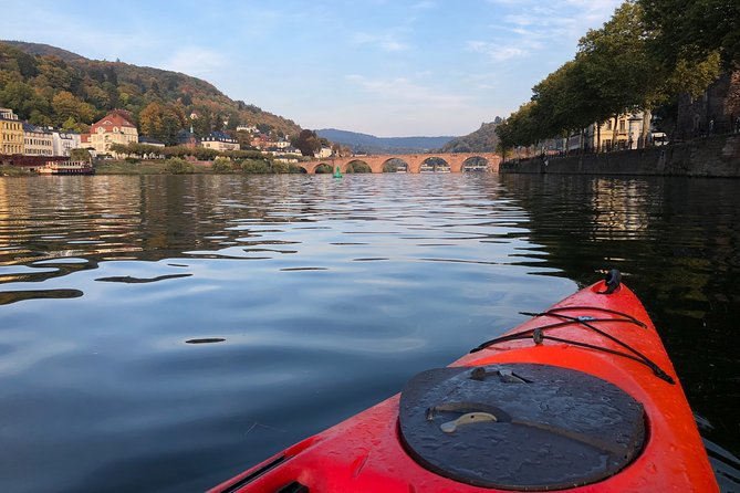 Kayak-Tour in Heidelberg on river Neckar