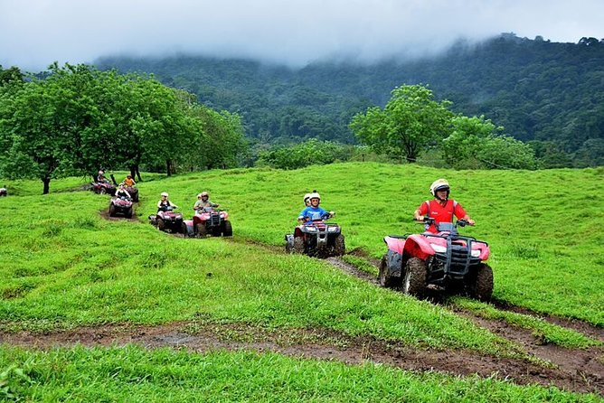 Half-Day ATV and Zipline Adventure in La Fortuna