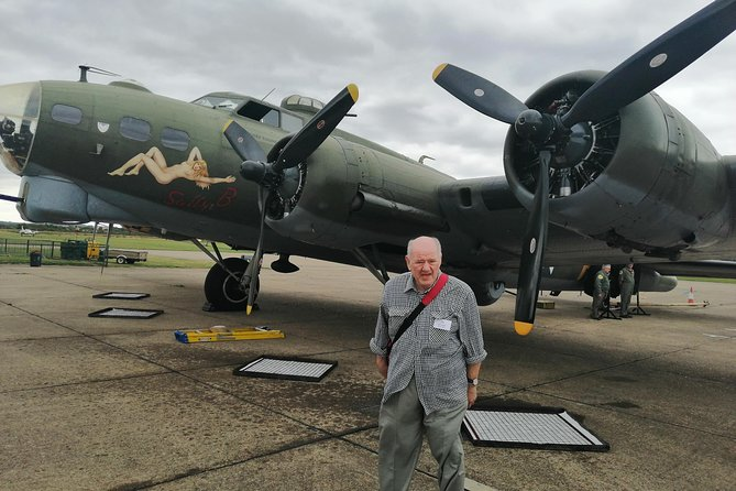 Luxury Private Vehicle Day Hire:London with Stopover Duxford imperial War Museum