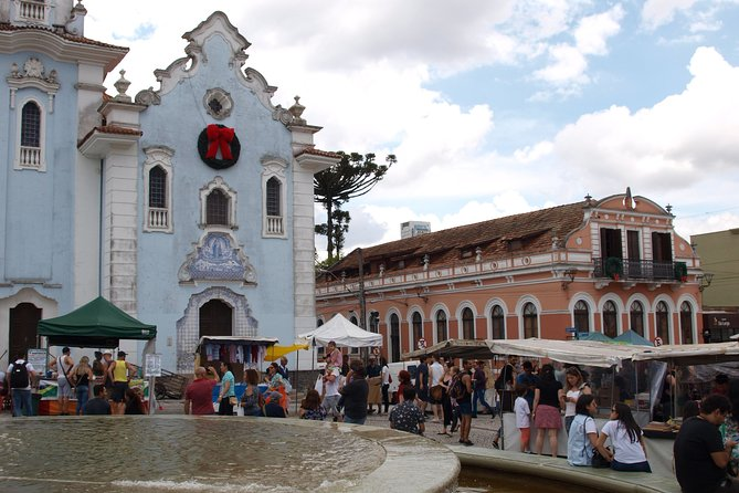 Walk through the historical and cultural center of Curitiba