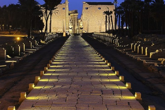 Sound and Light Show at Karnak Temple with Private Transfer