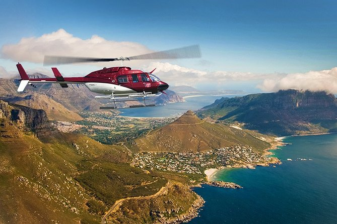 ( Cape Town Private Tour ) 3-Days Helicopter Ride & Cape Point & Wine testing
