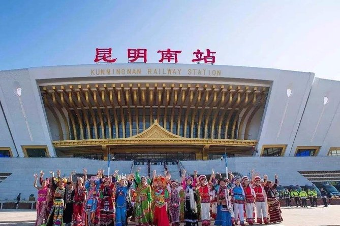 Private Kunming Railway Station Arrival Transfer to City Hotels