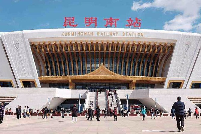 Private Kunming Railway Station Departure Transfer from City Hotels