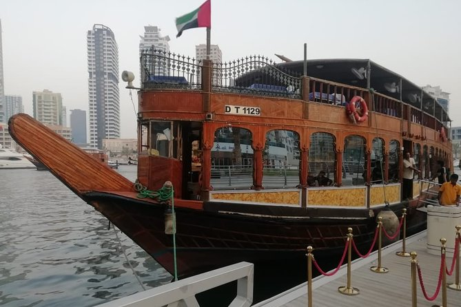 Standard Dhow Cruise Dinner with Dubai Creek, Transfer and Buffet Dinner