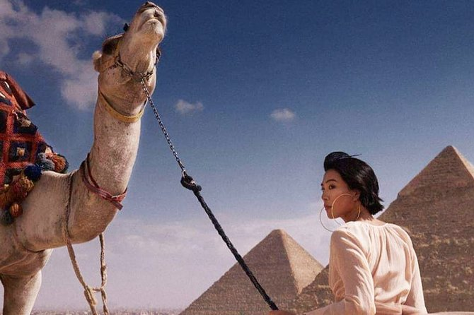 Tour to Pyramids, the Egyptian Museum, Nile lunch cruise and Sound & Light Show