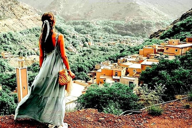 Premium Atlas Mountains & 3 Valleys from Marrakech including Camel Ride & Lunch