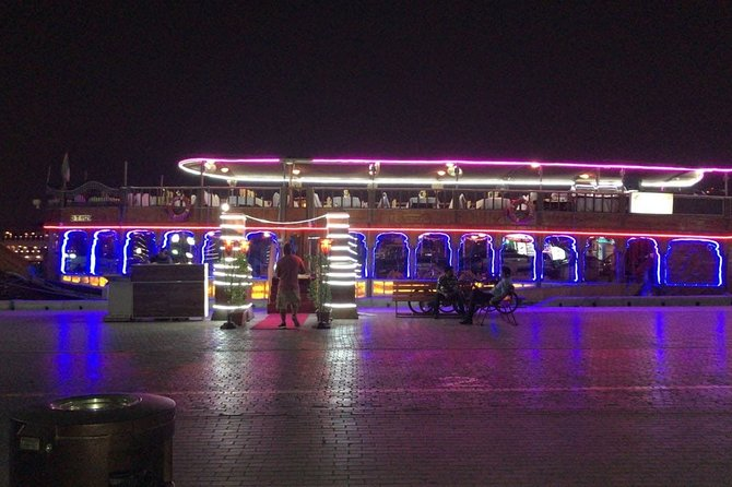 Dubai Dhow Cruise Dinner with Entertainment Show and Dinner