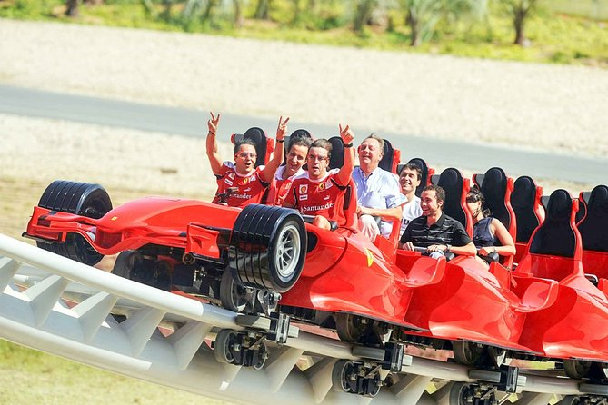 Abu Dhabi City Tour with Ferrari World Theme Park Ticket