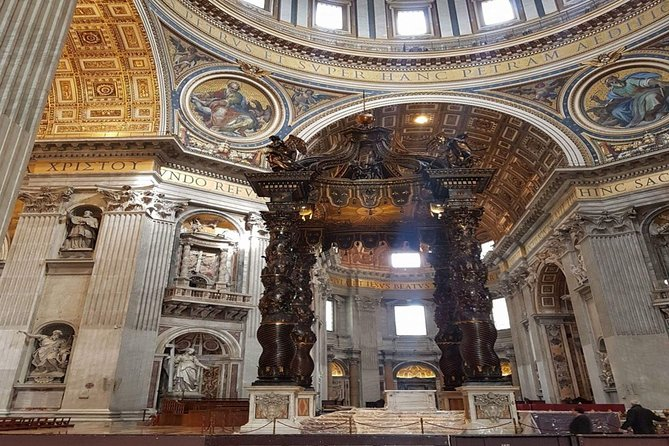 Vatican Museum and St. Peter's Basilica Private Tour