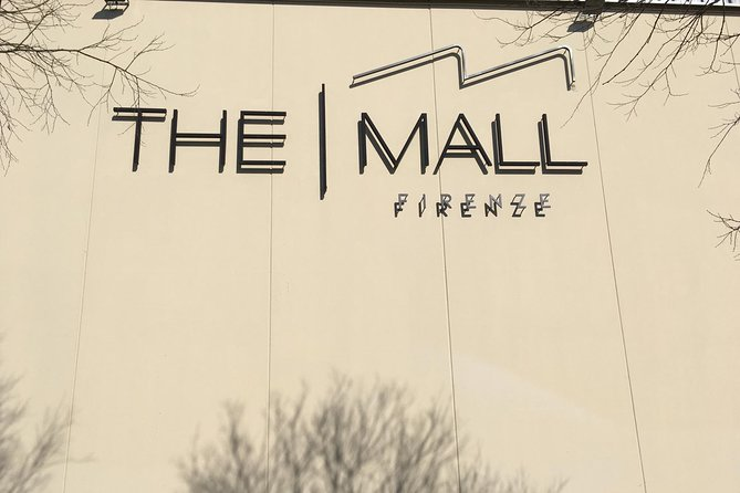 The Mall Luxury Outlet in Tuscany Shopping small group Tour