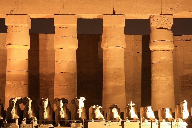 Private Karnak Temple Sound and Light Show Tour