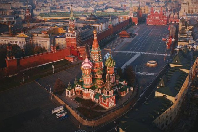 4 Days in Moscow 4 * Hotel transfers and excursions Multilingual Guide 2020-2021