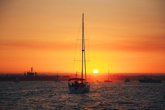 Sunset Sailing Experience   Private Yacht in San Diego