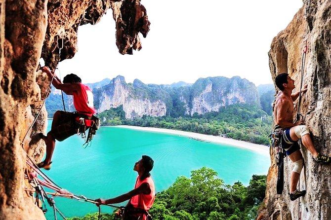 Krabi: Krabi Rock Climbing Small-Group Experience