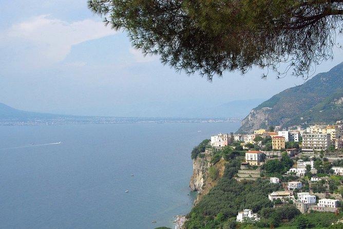 Full-Day Sorrento Amalfi Coast Positano Private Tour from Rome