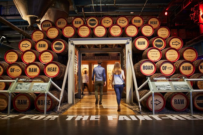 Skip the Line Guinness Storehouse Signature Package and Gift Box