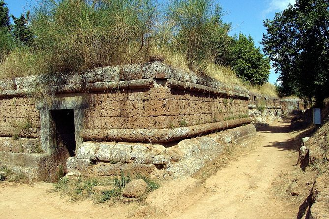 Tarquinia and Etruscan Civilization Private Day Tour from Rome