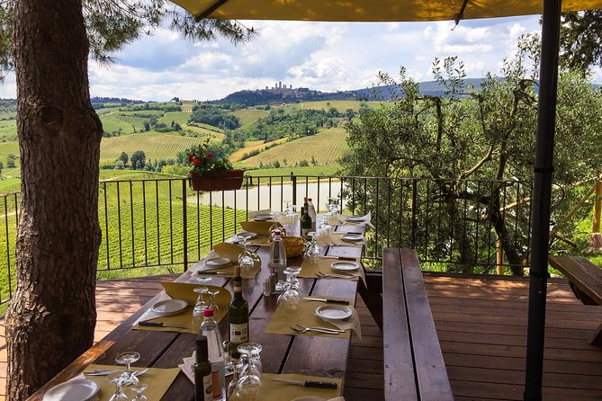 Private Guided E-bike Tour of San Gimignano with Wine Tasting