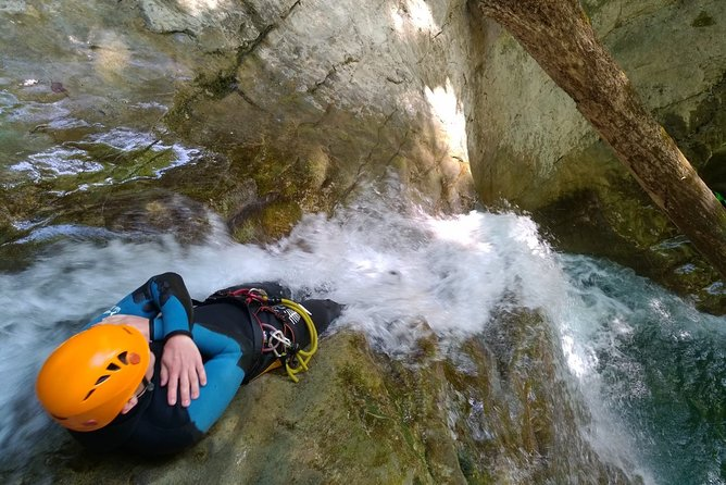 Sports Canyoning of Écouges bas in Vercors - Grenoble