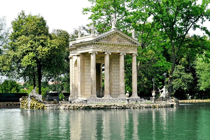 Half-Day Private Tour to Villa Borghese with Pickup from Rome