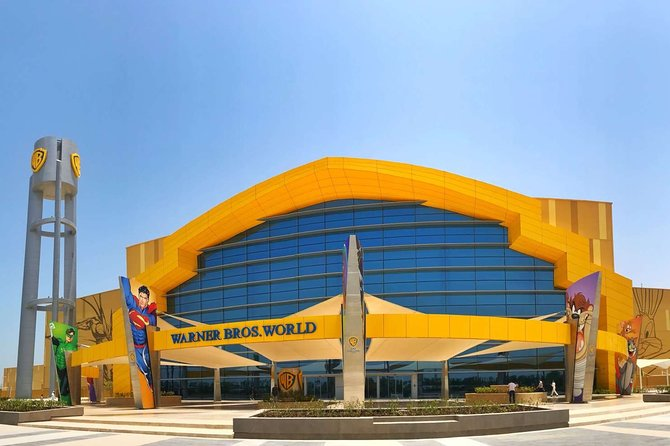 Warner Bros World + Abu Dhabi City Tour - Premium Pass with Transfers