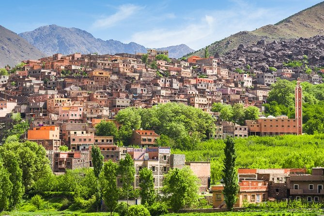 Atlas Mountains And Toubkal Massif & Waterfalls Guided Day Tour From Marrakech