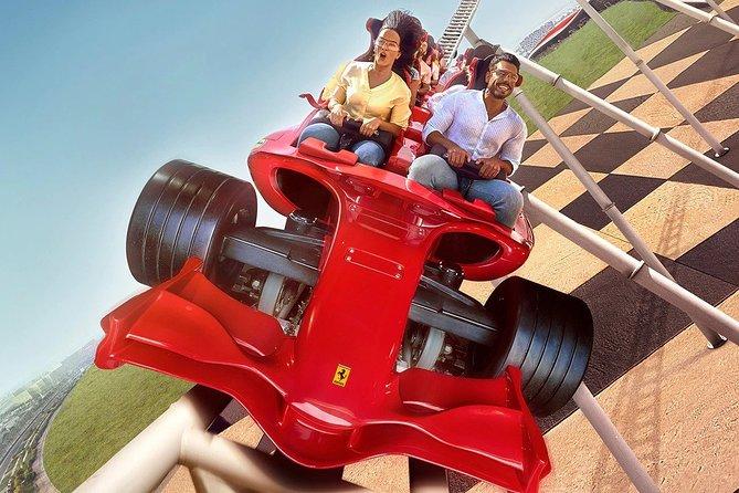 Ferrari World with Abu Dhabi City Full-Day Tour from Dubai