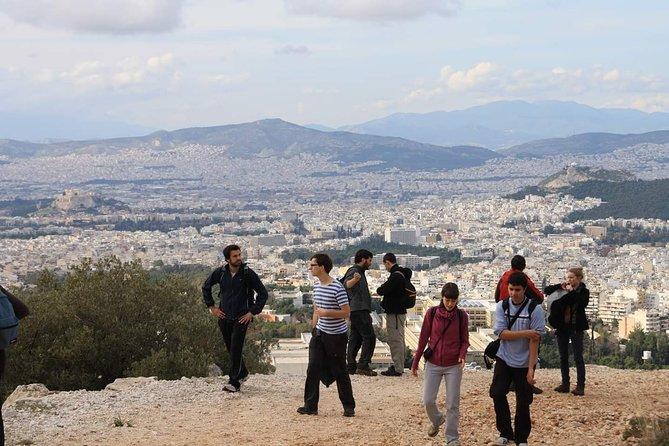 Hiking in Ymmitos Mountain