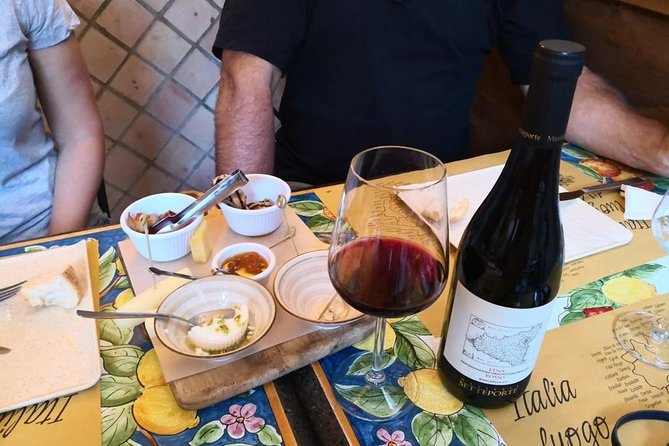 Taormina Food and Wine Tour (Small group & Licensed Guide)