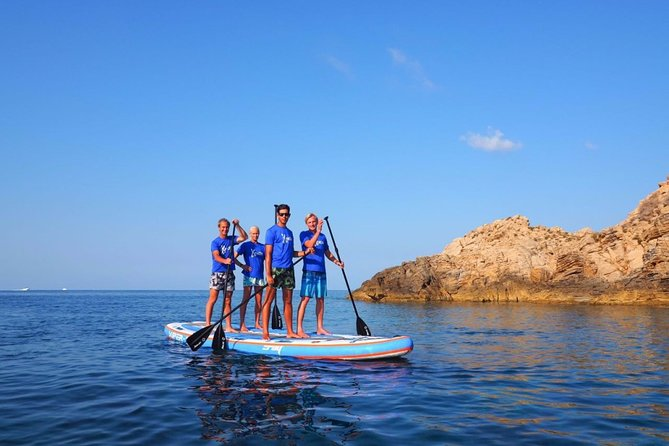 Rent our BIG SUP in Sant Elm and enjoy giggly moments on the sea
