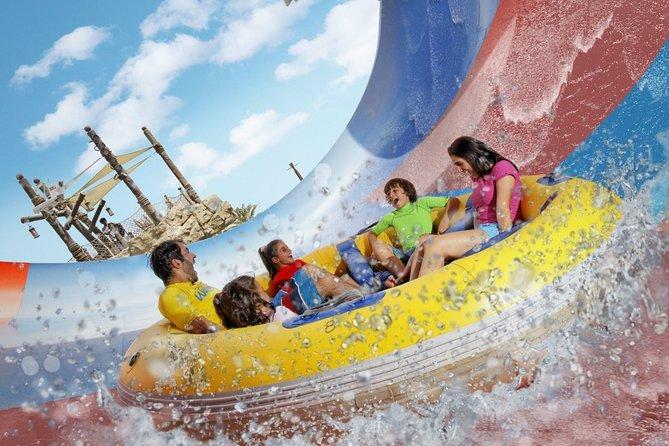 Yas Waterworld Abu Dhabi Premium Pass with Transfer from Dubai