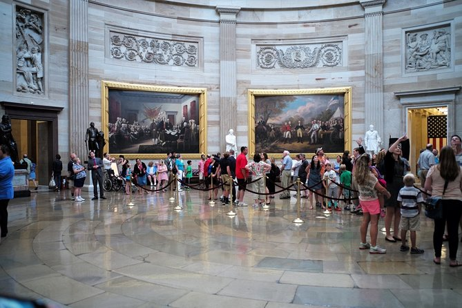Guided Walking Tour of Capitol Building in Washington DC