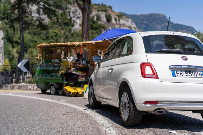 Wine Tasting and Lunch on the Vesuvius during Rome to Amalfi Coast Transfer