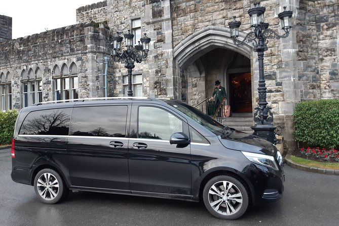 Ashford Castle Cong To Shannon Airport Private Chauffeur Transfer