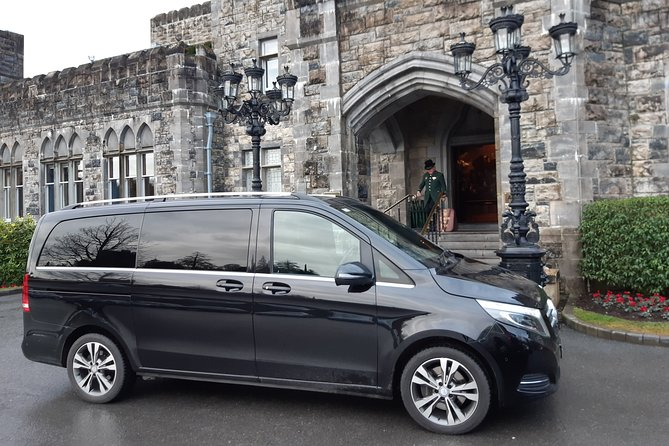 Ashford Castle Cong To Shannon Airport Private Chauffeur Transfer