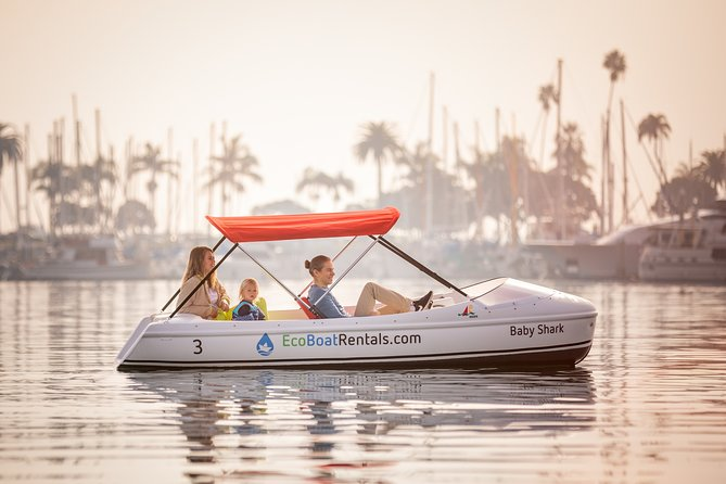 1 HOUR Eco Pedal Boat Rental in San Diego Bay