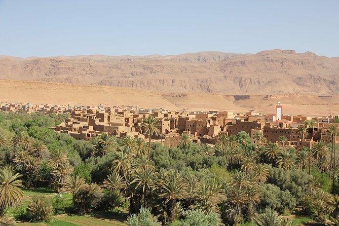 Merzouga Desert Private 4-Day Tour from Marrakech & Camel Ride