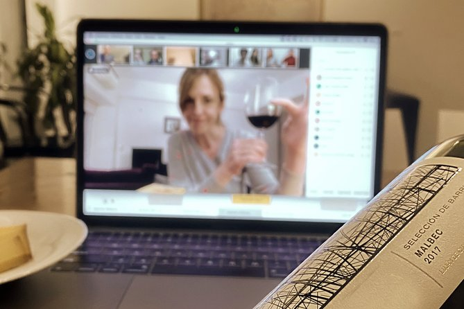 Private Online Wine Experience in Buenos Aires