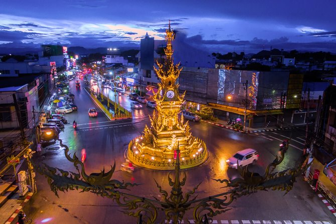 Chiang Rai: Chiang Rai City Tour with Dinner and Show