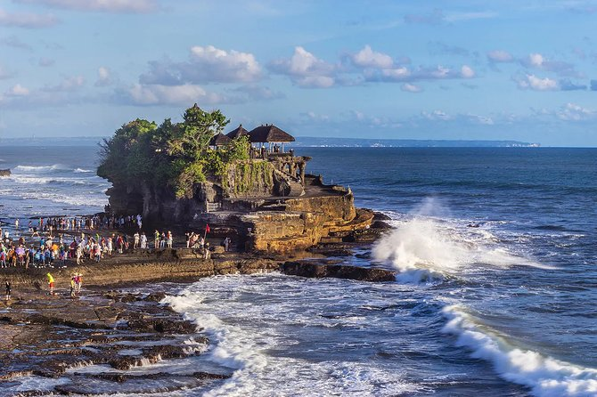 Beauty of Waterfall, Kintamani Volcano, Ubud Monkey Forest and Tanah Lot Tour