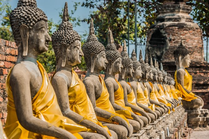 Private Temple and Palace Day Tour of Ayutthaya from Bangkok