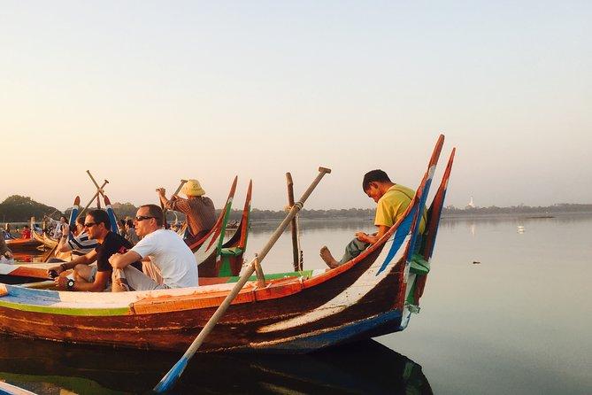Private Sunset Boat Trip U Bein Bridge From Mandalay