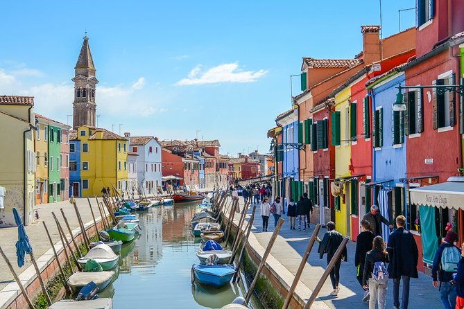 Private Half-Day Boat Tour Venice's Islands with Hotel Pick Up
