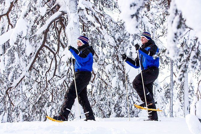 Snowshoe Trip for Searching Arctic Animals