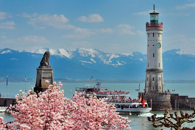 Day tour Insel Lindau with city tour and Bregenz floating stage & cable car Pfänder