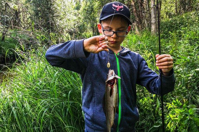 Fishing for Fun in Rovaniemi