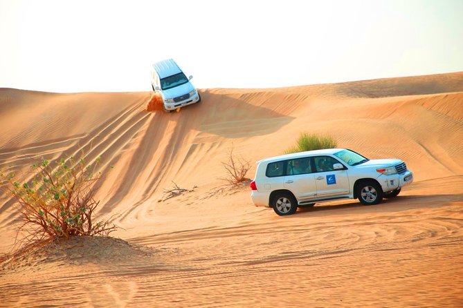 Dubai Desert Safari with 4x4 Dune Bashing and BBQ Dinner